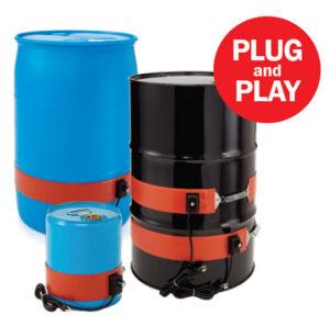 Silicone Container Heater Heavy Duty BriskHeat