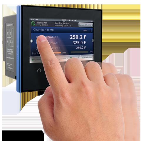 Watlow F4T Temperature Controller Touchscreen