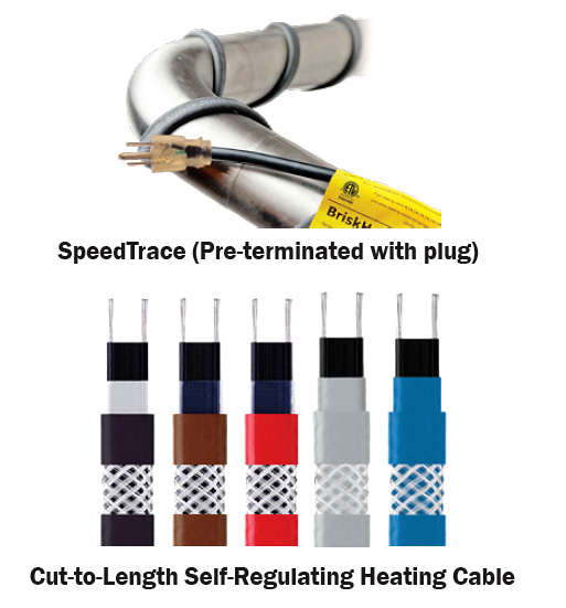 BriskHeat Speed Trace Heating Cable
