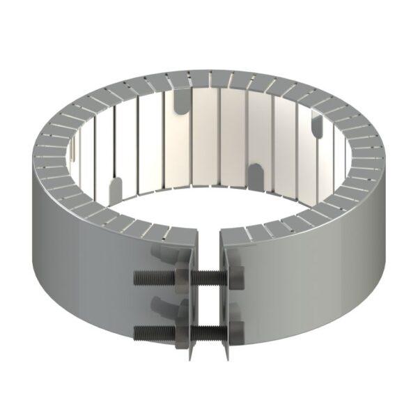 Heat and Sensor Ceramic Band Heater Flange