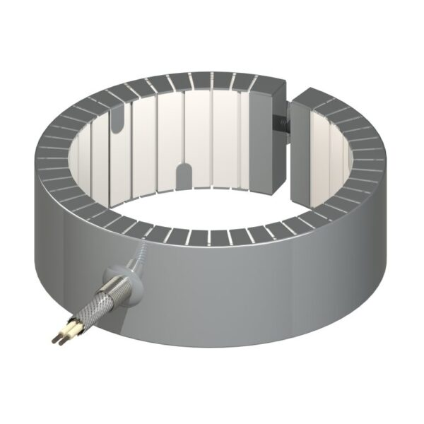 Heat and Sensor Ceramic Band Heater Style 5