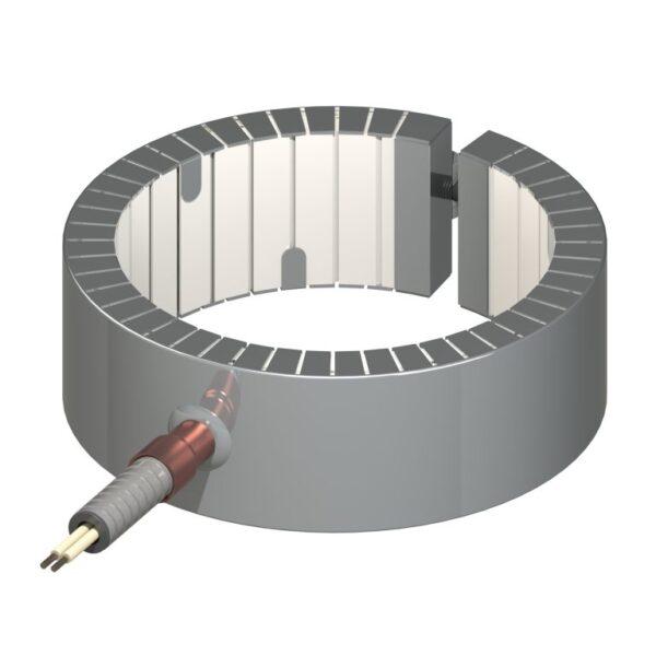 Heat and Sensor Ceramic Band Heater Style 7