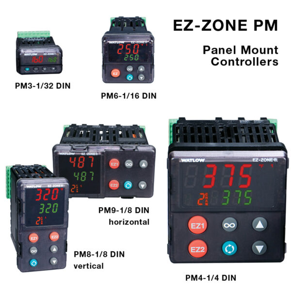 Watlow EZ-ZONE PM Controllers