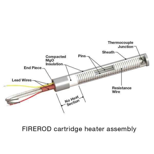 Watlow Firerod Cartridge Heater Assembly
