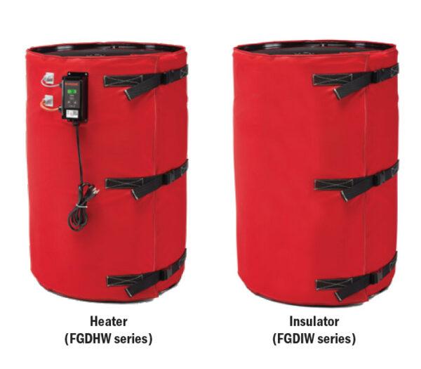 BriskHeat Drum Heaters Insulator Series