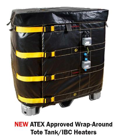 BriskHeat Industrial Tank Wrap ATEX Approved