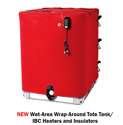 BriskHeat Industrial Tank Wrap Wet Areas
