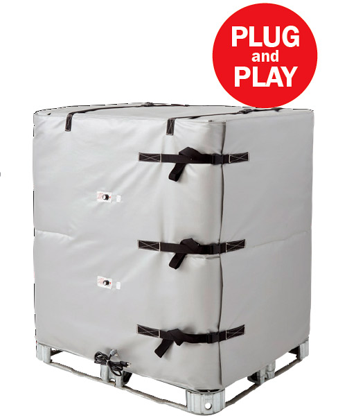 BriskHeat Industrial Tote Wrap Heater