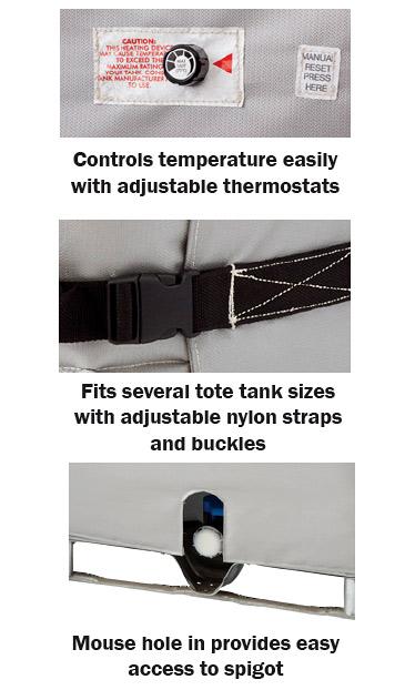 BriskHeat Industrial Tote Wrap Controls