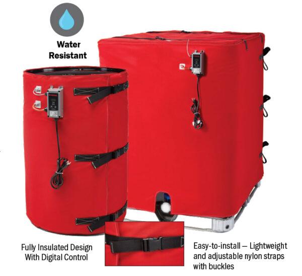 BriskHeat Wet Area Drum Heaters